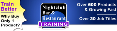 Nightclub Bar and Restaurant Training