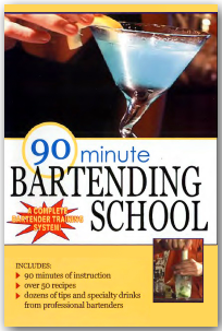 90 Minute Bartending School VIDEO