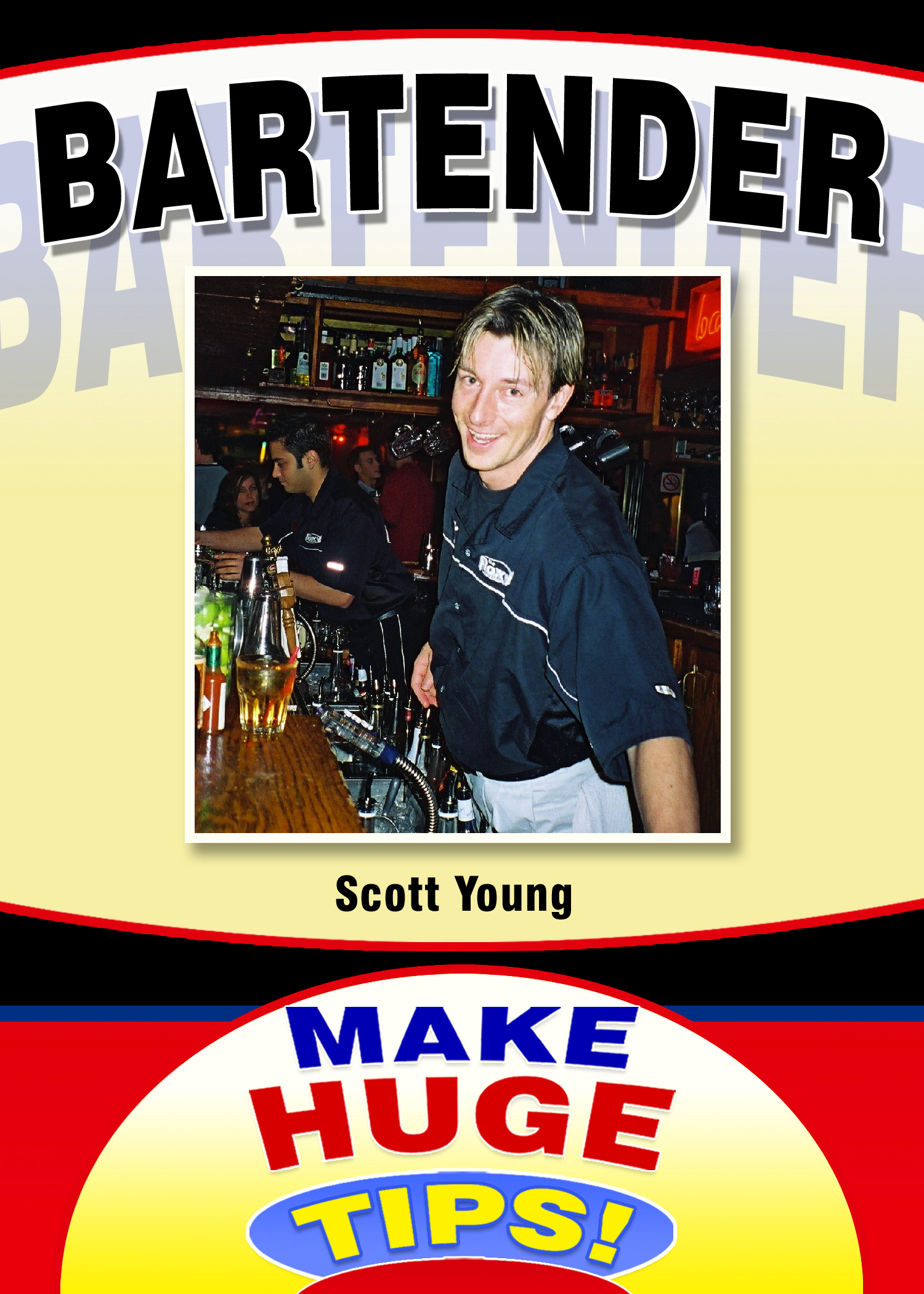 How to Be An Outstanding Bartender: eBook Author Scott Young