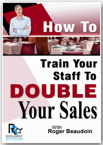 How To Train Your Staff To Double Your Sales: Audio Book Roger Beaudoin